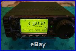 Icom Ic-706mkii Allmode Transceiver Hf-vhf