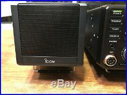Icom Ic-7300 100W HF Transciever with external speaker, extras