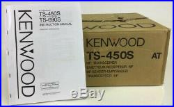 KENWOOD TS-450S Ham Radio HF Transceiver in Original Box, Excellent Shape
