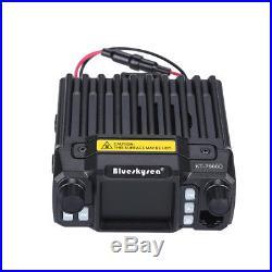 KT-7900D Quad Band Quad-Standby 25W VHF UHF Mobile Radio Transceiver+ Microphone