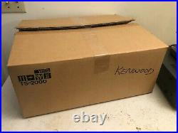Kenwood HF/VHF/UHF All Mode Multi Bander TS-2000 with Box & Manual & MC-60 Mic