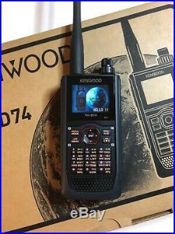 Kenwood TH-D74A 5W 144/220/430MHz Tri-Band D-Star APRS Digital HT