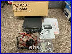 Kenwood TS-2000 All Mode Transceiver Ham Radio HF 50 144 430 MHz Exc Clean