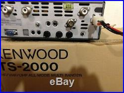 Kenwood TS-2000 HF VHF UHF All Mode Ham Transceiver