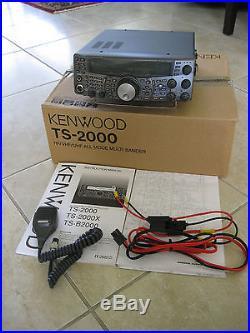 kenwood ts 2000 hf  vhf  uhf  sat mint  later model  blue Kenwood TS-2000 Mods Kenwood TS-2000 Mic Wiring