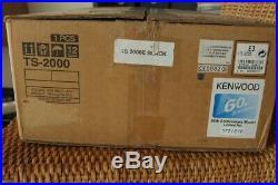 Kenwood TS 2000 LE Black Limited Edition KW+6m+2m+70cm No. 177/210