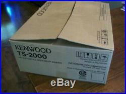 Kenwood TS-2000 ts2000 HF ALL MODE HAM Amature Radio Transceiver & accessories