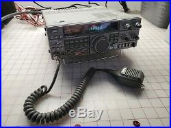 Kenwood TS-440S/AT HF Transceiver withDC power cable and Microphone Ham Radio