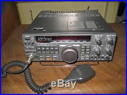 Kenwood TS-440S Transceiver with Hand Mic, Box, Original Manual, Used