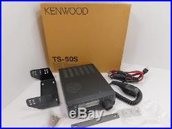 Kenwood TS-50S Mobile HF Ham Radio Transceiver with Mic + Power Cable SN 30200011