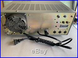 Kenwood TS-830S HF Ham Transceiver Radio With Shure 404c Mic