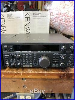 Kenwood TS-850 S HF Transceiver 100 W. CW, SSB. 40W. AM. 10 Thru 160 M. Band