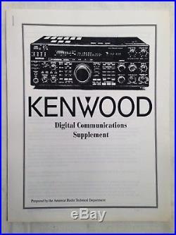 Kenwood TS-940S Ham Radio HF Transceiver S/N 9030136 TESTED & WORKS