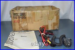 Kenwood Ts-440sat Hf Transceiver! Autotuner
