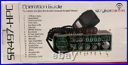 LOUD STRYKER SR497HPC 110 WATT 10 METER RADIO with 7 COLOR FACE SUPERFAST SHIP
