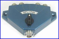 MFJ-1704 Hi Power Antenna Switch 4 Position. HF/VHF/UHF
