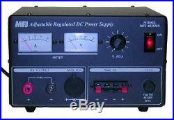 MFJ-4035MV Linear power supply, 1-14VDC, 35A, Meters