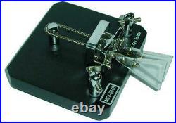 MFJ-564B Iambic paddles for Morse code, black