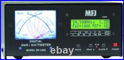 MFJ-828 Digital HF/6M (1.8 54MHz) SWR/Wattmeter with Frequency Counter