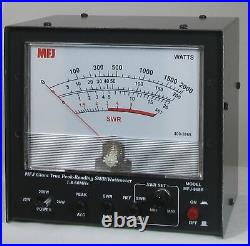 MFJ-868B Giant HF/6M (1.8 54MHz) Peak Reading SWR/Wattmeter, 20/200/2000W