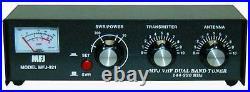 MFJ-921 Manual tuner + SWR 2m/1.25m, 30/300W
