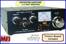 MFJ-962D 1.8-30 MHz Versa Tuner III AirCore Roller Inductor Antenna Tuner