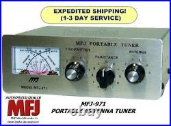 MFJ-971 Antenna Tuner With Cross Needle Power & SWR Meter, 1.8-30 MHz, 200W