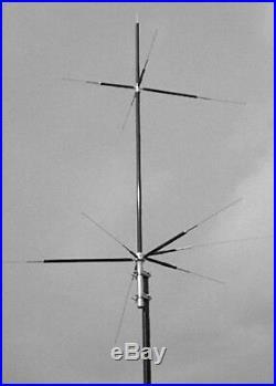 Maldol HVU-8 Compact 8 Band HF/VHF/UHF Vertical Antenna 80/40/20/15/10/6/2M/70cm