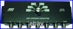Mfj-1701 6 Position Hf Antenna Switch