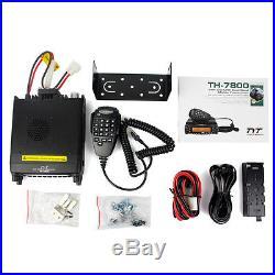 Mobile Car Ham Radio Transceiver Dual Band 50W VHF/40W UHF Cross-Band Repeater
