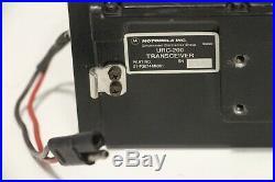 Motorola URC-200 Line of Sight VHF/UHF Military Radio Transceiver 01-P36744M001