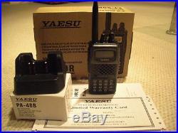 NEW Extended TX Freqs YAESU 5 Watt FT-60r Dual Band mars caps