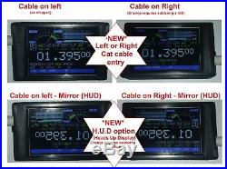 Original CatDisplay for Yaesu FT-857ND or FT-897ND with new HUD option