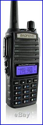 Portable Handheld Scanner Radio Police Fire HAM Antenna Transceiver & Battery TM