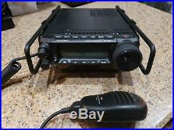 Practically New Yaesu FT-891 portable radio all modes HF +6m max 100W