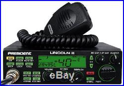 President Lincoln II+ 10 Meter Amateur Ham Radio NEW PRO TUNED AND ALIGNED
