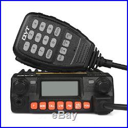 QYT KT-8900R Tri-band Car Radio 25W Mobile VOX Transceiver 200CH + Car Charger