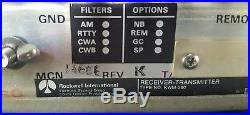 ROCKWELL COLLINS KWM-380 KWM380 late serial number 1300