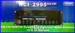 Ranger RCI-2995DXCF Base Station 10 + 12 Meter SSB/AM/FM/CW Built-In Fan