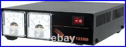 SAMLEX SEC-1235M 30A Switching Power Supply with Metters