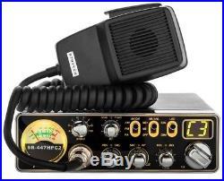 Stryker SR-447HPC2 10 Meter Amateur Ham Mobile Radio AM FM 55 Watts PEP Slim New