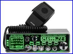 Stryker SR-955HPC 10 Meter Amateur Ham Mobile Radio AM FM SSB 7 Color 80+ Watts