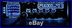 Stryker Sr 955hp, Am/usb, Lsb, Fm, 10 Meter Ham Radio, Over 100 Watts Output