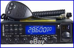 Superstar CRT SS 6900 N V6 CB Radio 10M 11M SSB UK40 Programmed Export + Cable