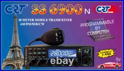Superstar CRT SS 6900 N V6 CB Radio 10M 11M SSB UK40 Programmed Export WITH USB