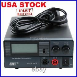 Switching Power Supply 30A 13.8V PSU CB Ham Radio Transceiver Base Station tsUS