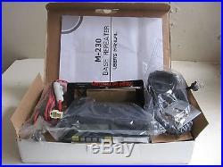 System M-230 (AT-5189) VFO 220 MHz 1.25 Meter 50 Watt HAM Radio Transceiver NIB