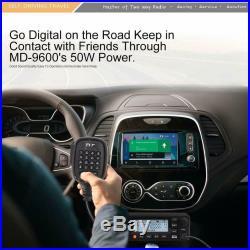 TYT MD-9600 DMR TDMA Encryption V/U 3kCH LCD Display Car Mobile Ham Transceiver
