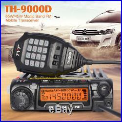 TYT TH-9000D UHF 400-490MHz Car Mobile Transceiver Radio Walkie Talkie Vehicle