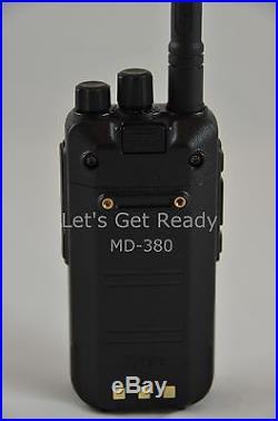 TYT Tytera MD-380 UHF Analog/Digital DMR Radio + USB cable + Software US Seller